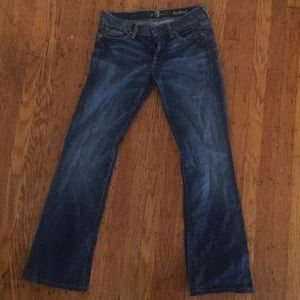 7 for All Mankind sz 27 bootcut jeans